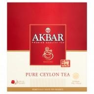 Akbar Pure Ceylon Herbata czarna 200 g (100 torebek)