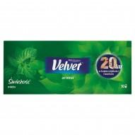 Velvet Aroma Świeżość mięta Chusteczki higieniczne zapachowe 10 x 9 sztuk