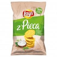Lay's z Pieca Pieczone chipsy Jogurt z ziołami ogrodowymi 130 g