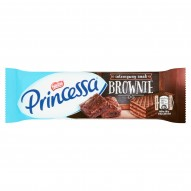 Princessa Kakaowy wafel przekładany kremem o smaku brownie 37 g
