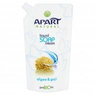 Apart Natural Prebiotic Kremowe mydło w płynie algi i goja Zapas 400 ml