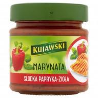 Kujawski Marynata Słodka papryka-zioła 180 ml