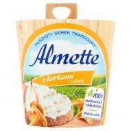Almette z kurkami i cebulą Puszysty serek twarogowy 150 g