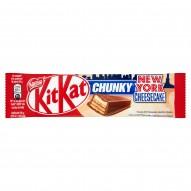 KitKat Chunky New York Cheesecake Paluszek waflowy z kremem w mlecznej czekoladzie 42 g