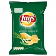 Lay's o smaku Zielona cebulka Chipsy ziemniaczane 40 g