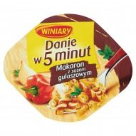Winiary Danie w 5 minut Makaron z sosem gulaszowym 50 g