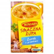 Winiary Smaczna zupa Żurek z grzankami 13 g