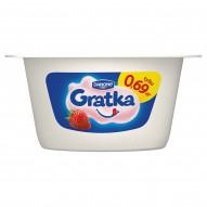 Danone Gratka o smaku truskawkowym Deser 115 g