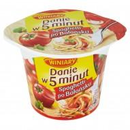 Winiary Danie w 5 minut Spaghetti po bolońsku 57 g